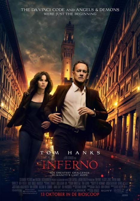 Inferno - Eminim Tom Hanks bile filmi çekerken sıkılmıştır.