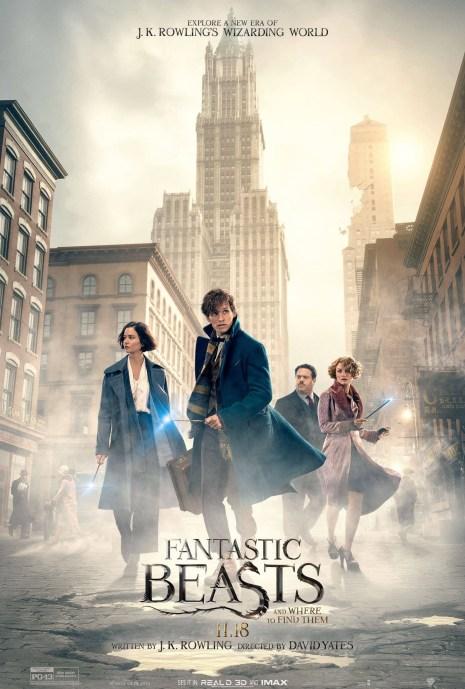 Fatnastic Beasts and Where to Find Them ile Harry Potter'ın büyülü dünyası Amerika'ya yolculuk ediyor.