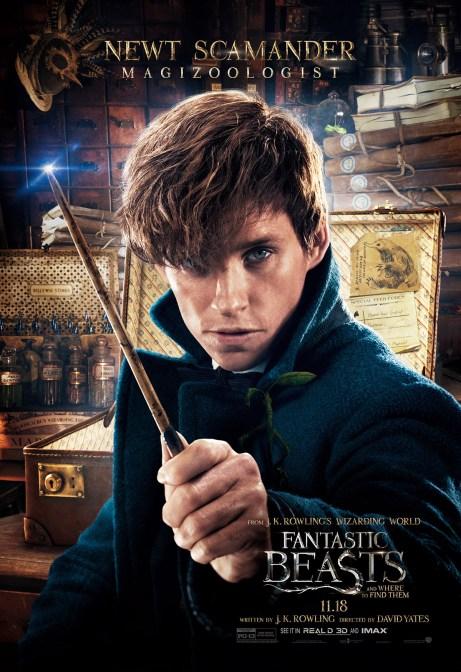 Fantastic Beasts and Where to Find Them Newt Scamander'in hikayesini bizlere anlatıyor.