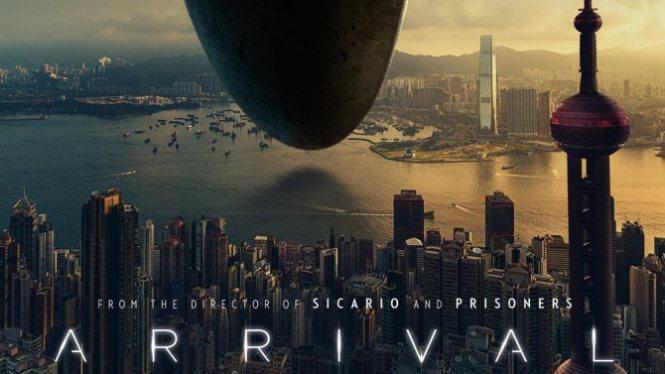 Arrival - Uzay gemisinin şekli muhteşem tasarlanmamış mı?