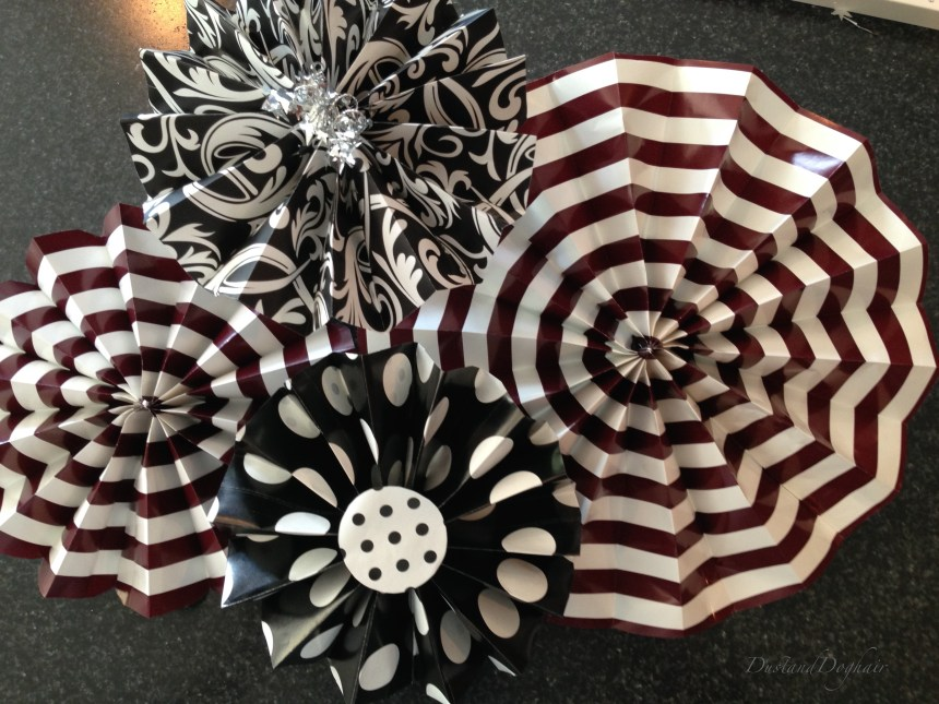 Practically perfect paper fans