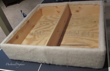 DIY Storage Ottoman