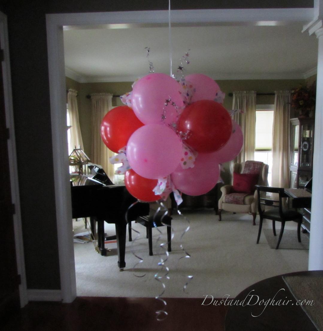 Hang Your Balloon Topiary