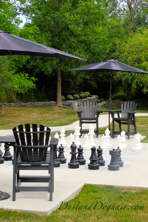 Backyard Chess Garden
