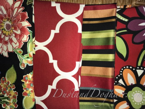 throw pillows, outdoor pillows, red pillows, floral pillows, striped pillows, ball fringe, rick rack, outdoor furniture, bold prints, sunbrella fabric, bold pillows