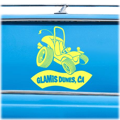 Glamis Dunes Vinyl Decal