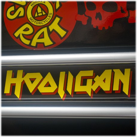Hooligan Two Color Decal