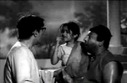 Mini, her father and Bhola