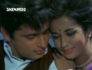 Nanda and Sanjay Khan in Beti