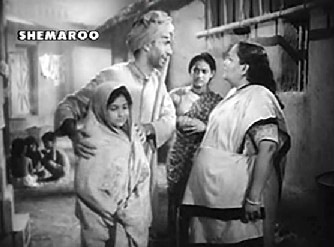 Shambhu and Kanhaiya with Rani and her `Dadi'