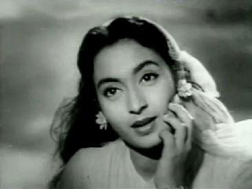 Nutan in Paying Guest