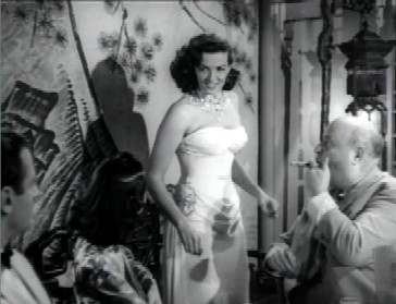 Jane Russell singing and dancing in Macao
