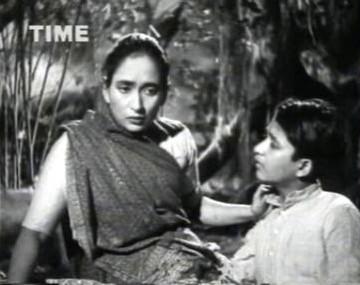 Chandra's mother comforts him