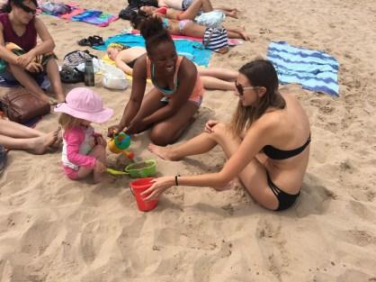 Sandcastle time!