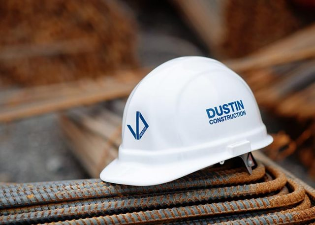 Dustin Construction Hard Hat