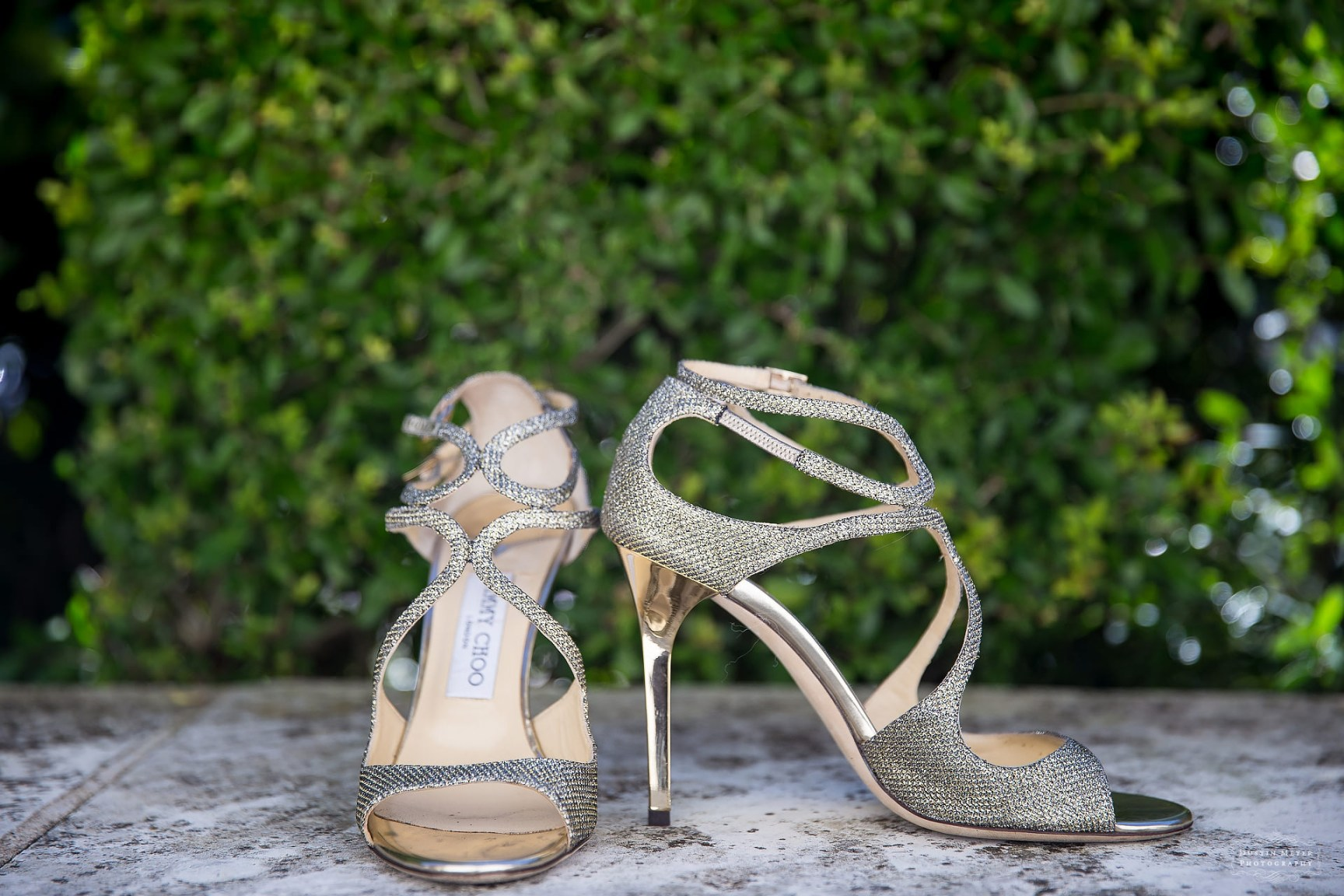 stunning jimmy choo bridal wedding shoes with straps studded encrusted with diamonds