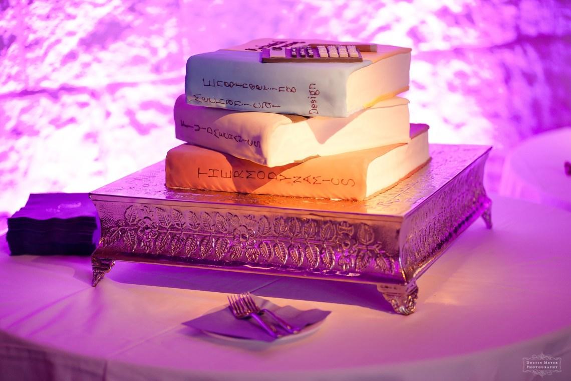 groom's wedding cake