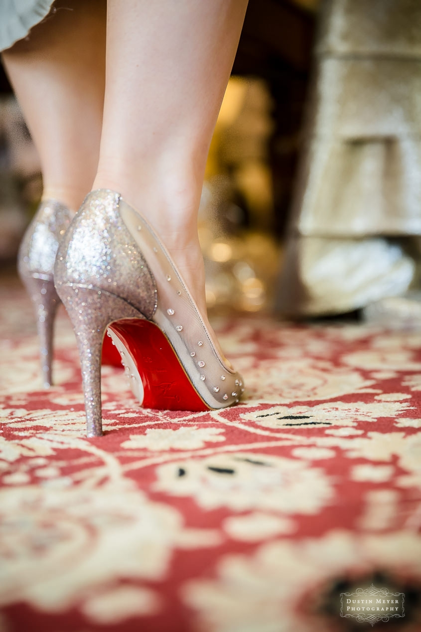 Wedding Bridal Brides Louboutin Shoes