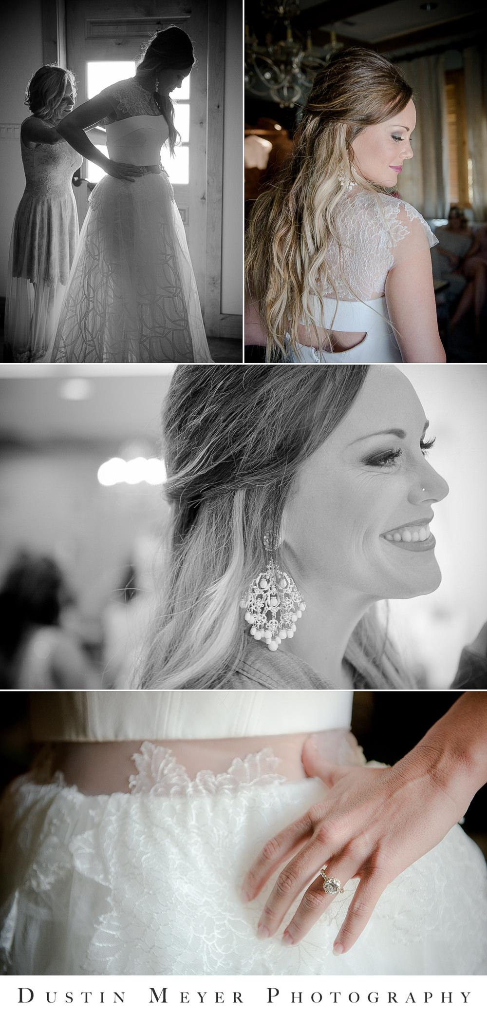 bridal gown, wedding dress, getting ready photos, engagement ring, wedding makeup, wedding earrings