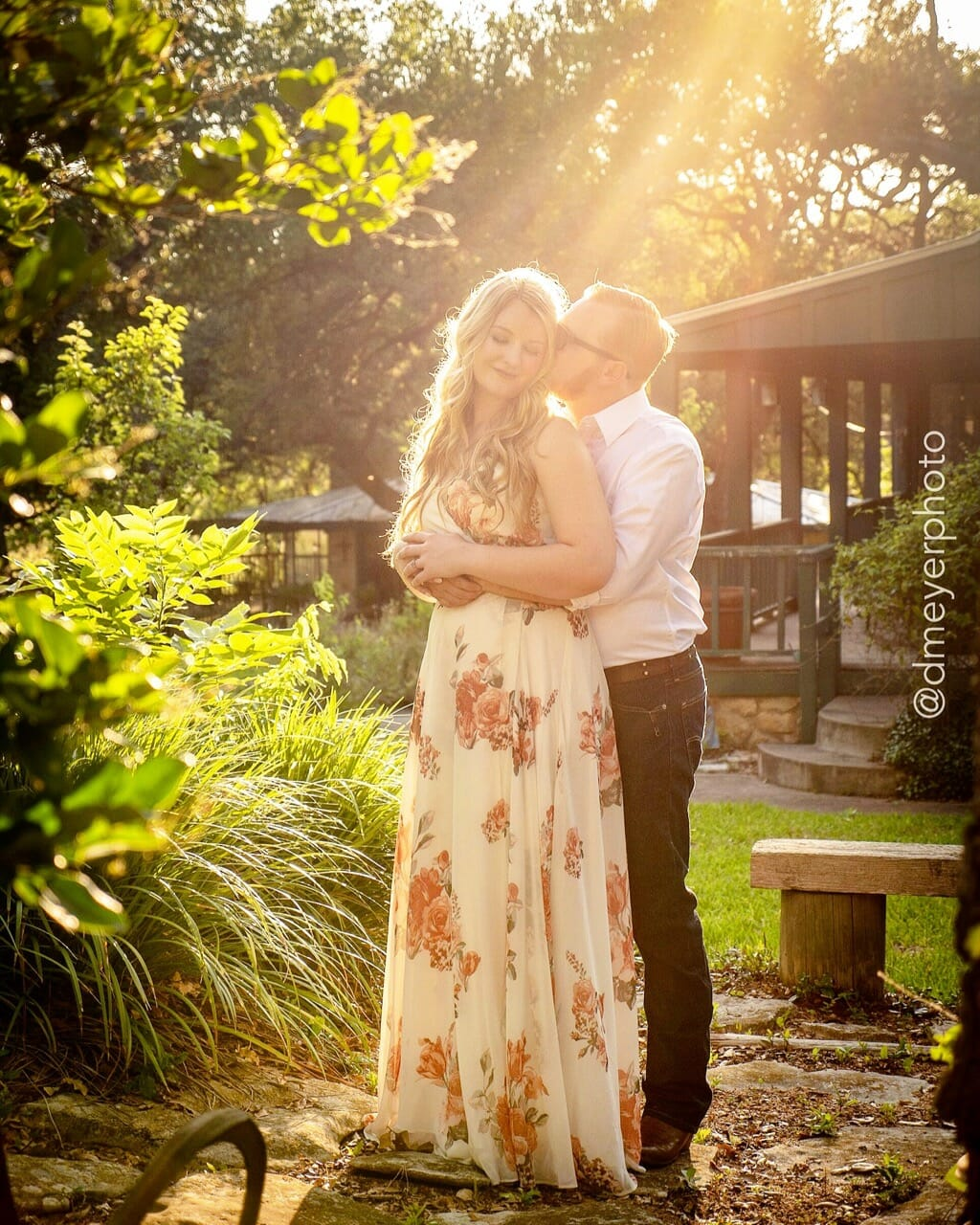 I absolutely love this shot with Cheyenne and Maxwell! – Engagement Portraits