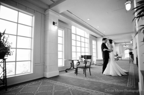 first look session, black and white wedding photos, barton creek resort and spa, bride, groom, austin wedding photographers
