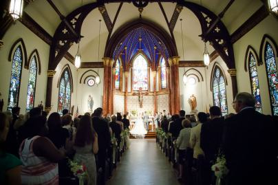 Saint Marys Cathedral Wedding Ceremony Photos Photography Austin Texas