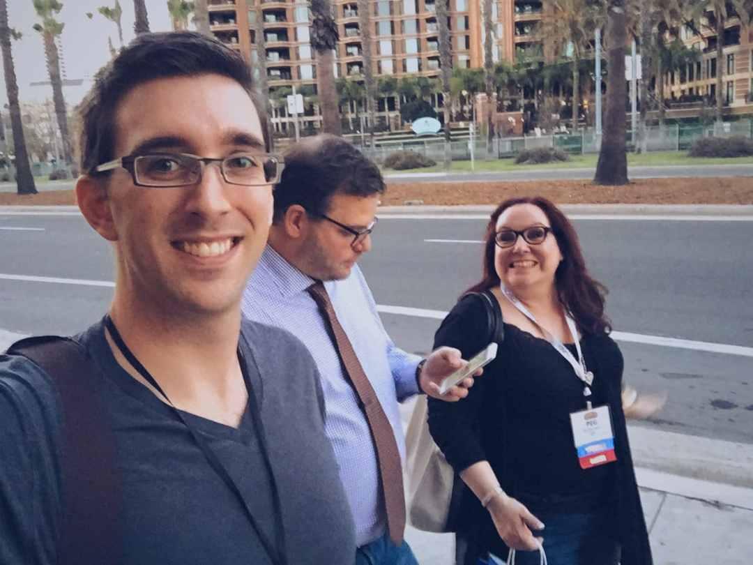 peg fitzpatrick and jay baer at social media marketing world