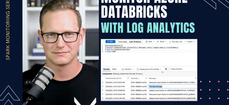 Monitoring Azure Databricks with Log Analytics