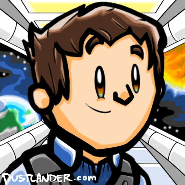 Custom sci-fi background!