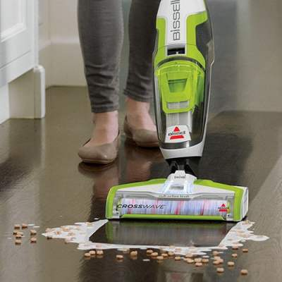 bissell crosswave in cleaning