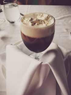 gourmet latte dessert