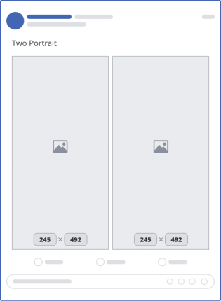 facebook two portrait upload mockup