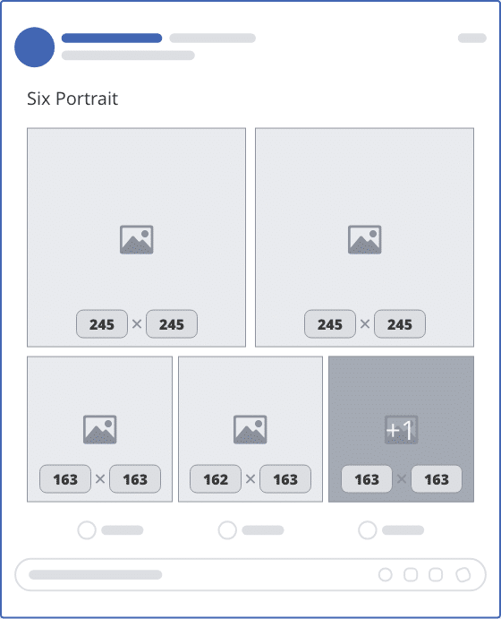 facebook six portrait upload mockup