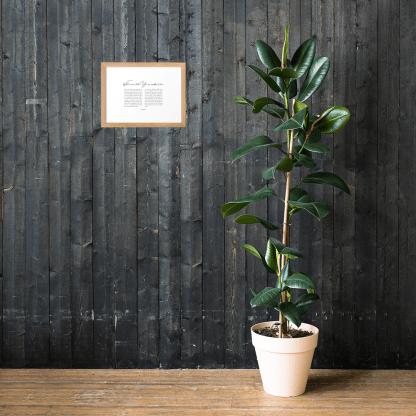 Psalm 8 enhanced-matte-paper-framed-poster-(cm)-oak-21x30-cm-lifestyle-1-60301076d3388