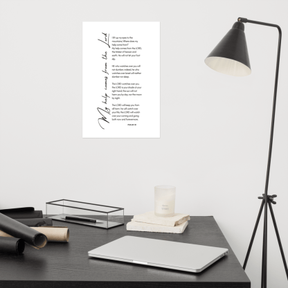 Psalm 121 enhanced-matte-paper-poster-(in)-12x18-front-603131b38bc0d