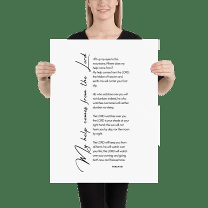 Psalm 121 enhanced-matte-paper-poster-(in)-18x24-person-603131b38bd0d