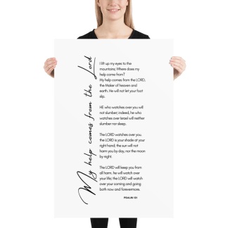 Psalm 121 enhanced-matte-paper-poster-(in)-24x36-person-603131b38bda9