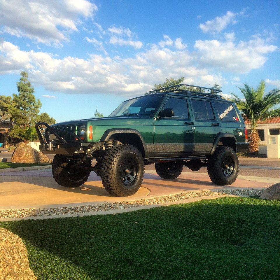 "4.5"" Lifted Cherokee"