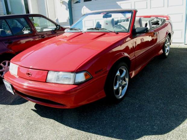 1993_Chevrolet_Cavalier_Z24_in_red