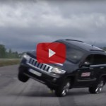 Jeep Grand Cherokee Nearly Rolls During Handling Test