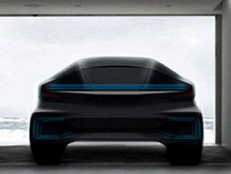 Faraday Future concept vehicle