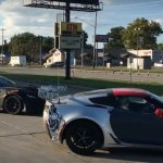 More Footage of the C7 ZR1 Corvette With a Huge Rear Wing