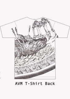AVM T-shirt Back