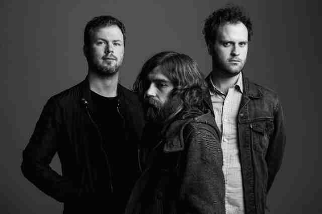 Wintersleep founding members-L-R-Paul Murphy-Tim D'Eon-Loel Campbell (Photo by Norman Wong; courtesy of Webster Media)