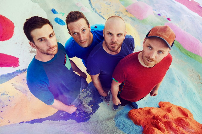 Coldplay  (Photo courtesy of Atlantic Records; by Julia Kennedy)