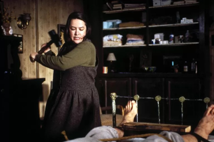 Kadın korku kötü adam Annie Wilkes Sefalet