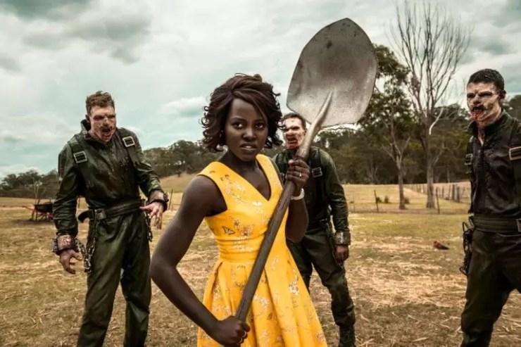 Little Monstersin basrollerinde Lupita Nyongo Alexander England Kat Stewart ve Josh Gad yer almaktadir.