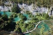fantastyczne kładki na jeziorach pozwalały przejść się niemal po wodzie