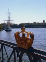 w drodze na kolejną wyspę - Sztokholm to miasto bez wątpienia królewskie