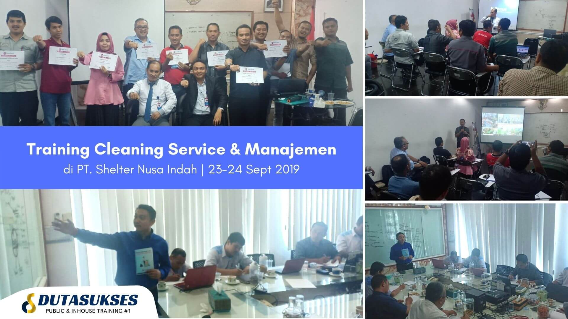 Training Cleaning Service dan Manajement Perusahaan Outsourcing